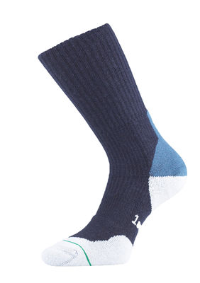 Fusion Walking Sock Navy (M)