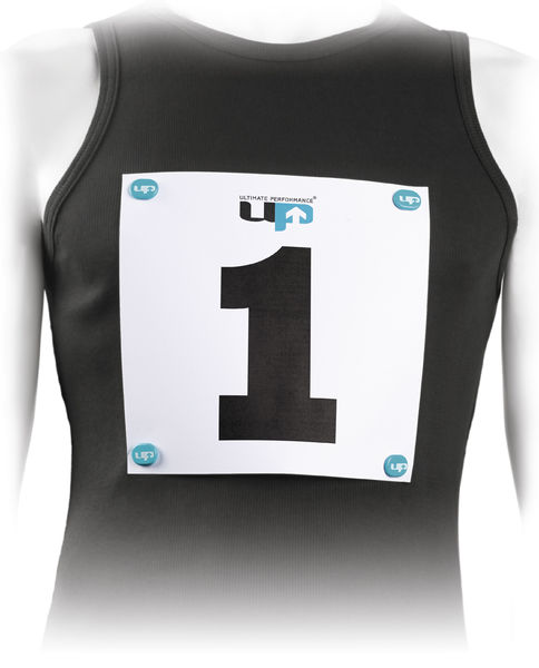 UP Numerolappumagneetit, Race Number Magnets - Blue 4 kpl/pkt